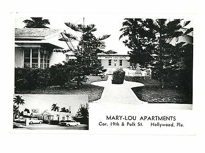 Mary-Lou Apartments Hollywood, Florida c 1950s