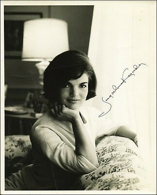 Signed Jacqueline Kennedy  Reprint