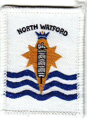 Boy Scout Badge single NORTH WATFORD District