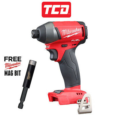 Milwaukee M18FID-0 18v Fuel 2 Brushless Impact Driver - Body Only + Free Mag Bit