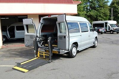 2008 Ford E-Series Van 1 Pos LOW MILEAGE HANDICAP ACCESSIBLE WHEELCHAIR LIFT EQUIPPED VAN....UNIT# 2132FW