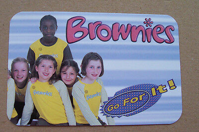 BRAND NEW BROWNIES GO FOR IT! Card