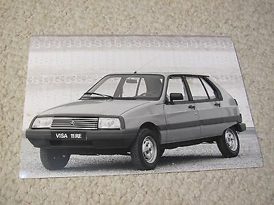 1987 Citroen Visa 11Re Original Press Photo...