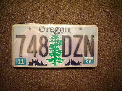 Oregon Tree     License Plate    Buy All States Here