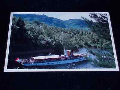 S.s. Sir Walter Scott, Ship, Loch Katrine Over-Sized Postcard Great Condition.