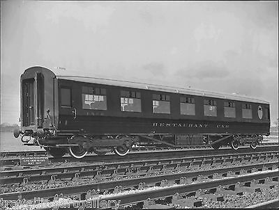 LNER THOMPSON FIRST CLASS RESTAURANT CAR No 1958 8x6 LNER OFFICIAL PHOTO 1948