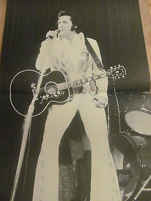 Elvis Presley, Two Page Vintage Centerfold Poster