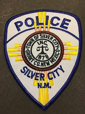 Silver City New Mexico  Police Shoulder Patch