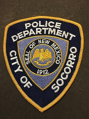 Socorro  New Mexico  Police Shoulder Patch