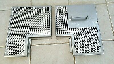 Hobart CRS66 Front & Rear Strainers Grates 00-435941, 00-436034 Used