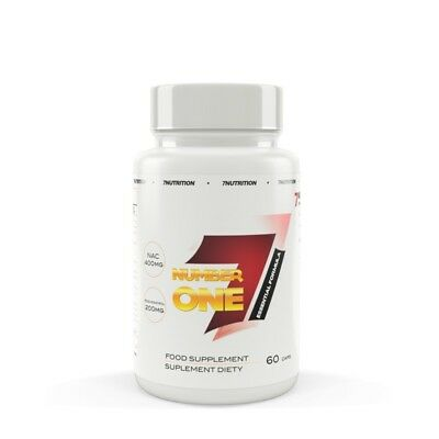 7Nutrition Number One 60 caps full antioxidant stack and cleansing agent