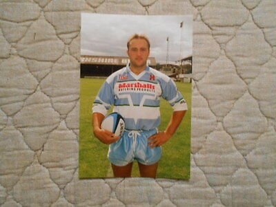 Paul Anderson Colour Photo Of Player In Halifax Rl Kit 1994