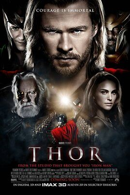 Thor - original DS movie poster - D/S 27x40 INTL Style A