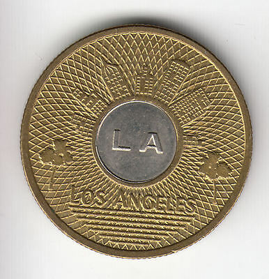 Usa Los Angeles Transport Token C1980    270K                 By Coinmountain