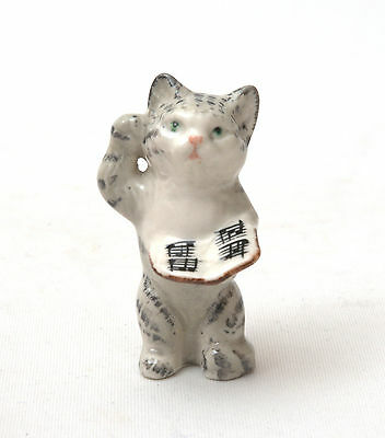 Beswick Cat Orchestra - Cat Conductor No.1026 1945-1973
