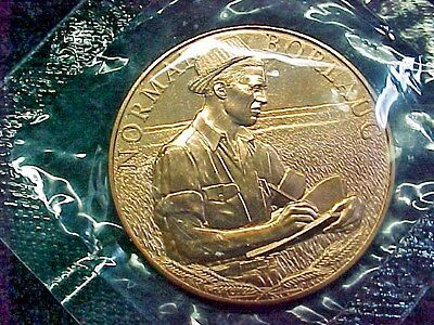 Norman Borlaug Bronze Metal From Us Mint