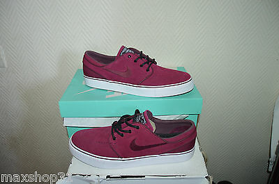 Chaussure Nike Sb Stefan Janoski T 44 / Us 10 Skate Shoes/basket Cuir Zoom Neuf
