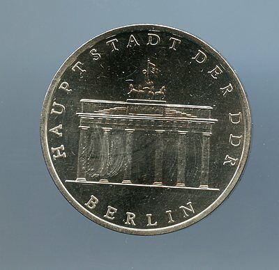 East Germany ~ 1980 A ~ 5 Mark ~ Proof ~ 2500 Minted