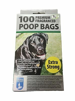 Extra Strong Doggy Poo Bags scented bags Pet Pooper Scooper Bag Dog Poo Waste
