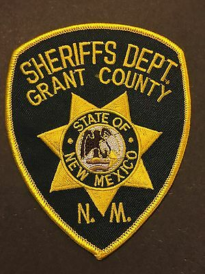 Grant County New Mexico  Sheriff  Shoulder Patch