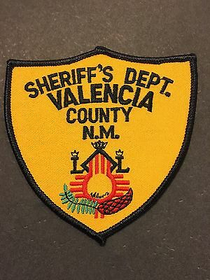 Valencia  County New Mexico  Sheriff  Shoulder Patch