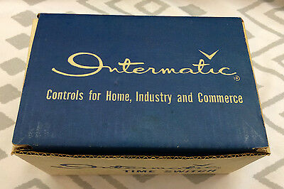 Intermatic Time Switch, Model T101, Single Pole, Single Throw, Brand New In Box