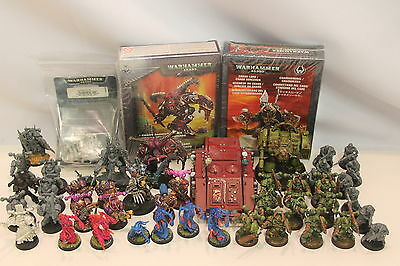 Warhammer 40K 40000 Chaos Space Marines Army Lot