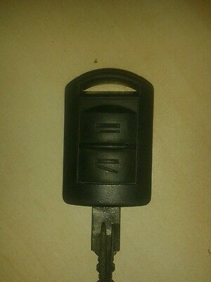 Vauxhall corsa meriva two button car key fob remote with no led