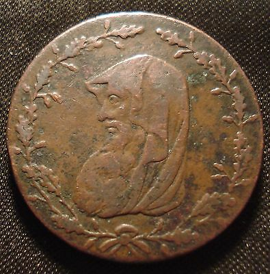 Anglesey Wales 1789 Druid Halfpenny Obverse Better