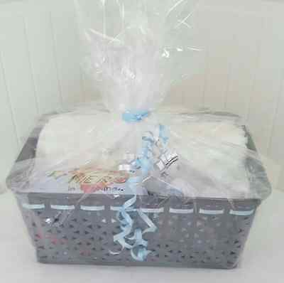 new baby boys newborn 0-3 months hamper perfect gift idea