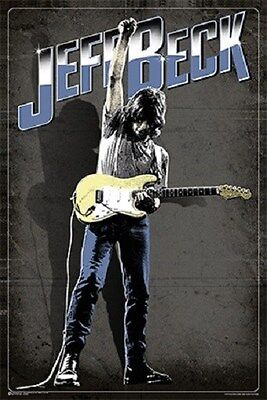 JEFF BECK ~ SOLO GUITAR ~ 24x36 MUSIC POSTER ~ NEW/ROLLED!