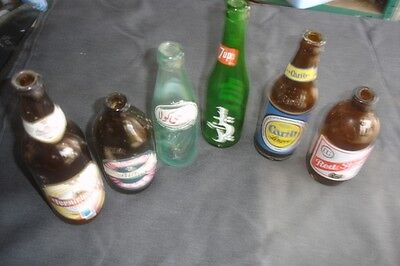Collection Of Beer Bottles Various Countries