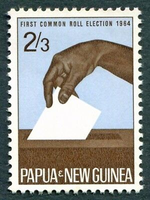 PAPUA NEW GUINEA 1964 2s3d SG51 mint MH FG Common Roll Elections #W9