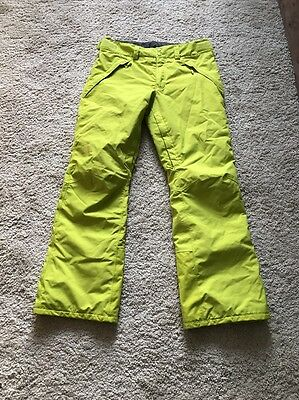 North Face Hyvent Men's Ski Snowboarding Trousers Pants Sz Med Rrp £200