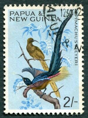 PAPUA NEW GUINEA 1965 2s SG67 used NG Birds #W9