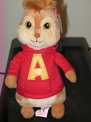 Ty Beanie Baby ~ ALVIN and the Chipmunks ~ MINT with MINT TAGS (STICKER)~ NEW