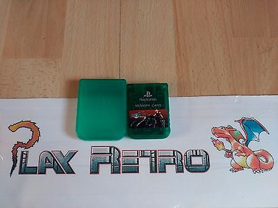 Play Station Ps1 Psx Memory Card Oficial Con Caja Final Fantasy Vii Cloud