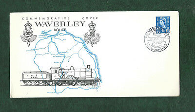 GB 1969 Closure of the Waverley Route Railway cover Hawick