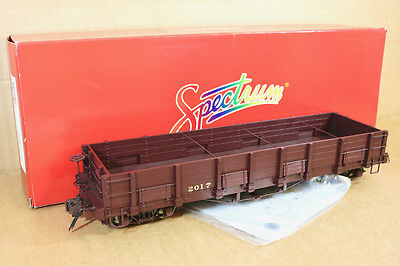 BACHMANN SPECTRUM 88297 Fn3 G GAUGE F&CC LS HIGH SIDE GONDOLA WAGON 2017 qd