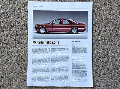 MERCEDES-BENZ 190E 2.3-16 - Classic Buying Guide Article