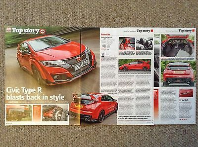 NEW Honda Civic Type R - First Drive Road Test Article