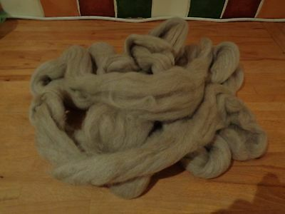 4 oz's OF WOOL FOR SPINNING