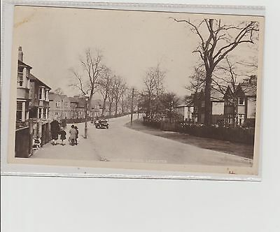 Leicester Humberstone Drive Real Photograph Postcard Unposted c1930s