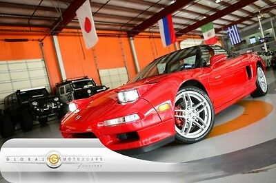 1992 Acura NSX Base Coupe 2-Door 92 ACURA NSX SPORT MANUAL