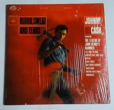 Johnny Cash - Blood, Sweat And Tears - Vinyl LP US 1963