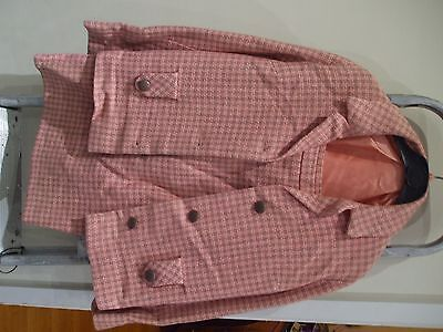 STROMER VINTAGE  early 1960s SKIRT & JACKET PINK an GREY