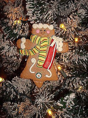 Gingerbread Man Lady/Girl Christmas Ornament