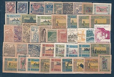 AZERBAIJAN Sc COLLECTION FROM Nº 1 MINT HR   FVF