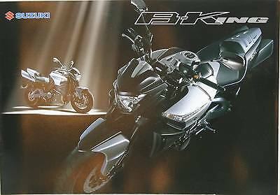 Suzuki GSX1300BK World Sales Brochure B-King GSX1300BK B King