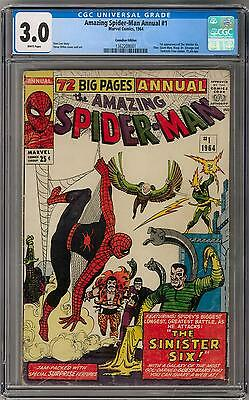Amazing Spider-Man Annual #1 CGC 3.0 (W) 1st Sinister Six